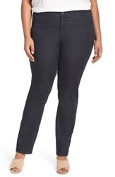 Lafayette 148 New York Plus Size Women's Thompson Stretch Bootcut Jeans Indigo