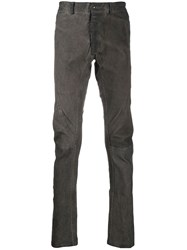 Isaac Sellam Experience Stitch Detail Leather Trousers 60