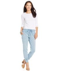 Celebrity Pink Jeans Juniors' Relaxed Jogger Jeans Thunderbir