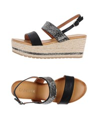 Cafe'noir Cafenoir Sandals Black