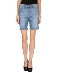 Twin Set Simona Barbieri Denim Bermudas Blue