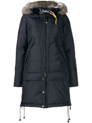 Parajumpers Hooded Puffer Jacket Blue