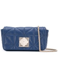 Sonia Rykiel Le Copain Shoulder Bag Women Leather One Size Blue