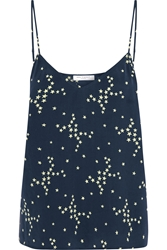 Equipment Layla Printed Washed Silk Camisole