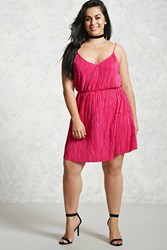 Forever 21 Plus Size Pleated Cami Dress