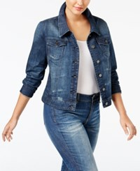 Standards And Practices Trendy Plus Size Denim Jacket Tomgirl