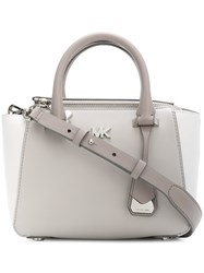 Michael Kors Collection Colour Block Tote Grey