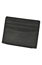 Andrew Marc New York 'Sheridan' Card Case Black