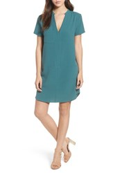 Lush Hailey Crepe Dress Hydro Teal