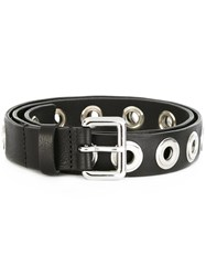 Diesel Studded Belt Black