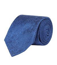 Harrods Of London Floral Limited Edition Tie Unisex Navy