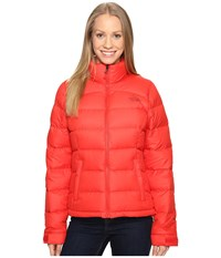 The North Face Nuptse 2 Jacket High Risk Red Women's Coat Multi
