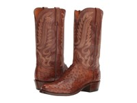 Lucchese Hueco Barnwood Cowboy Boots Brown