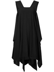 Lost And Found Rooms Asymmetric Trapeze Dress Black