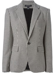 Ralph Lauren Black Label Ralph Lauren Black Houndstooth Print Blazer