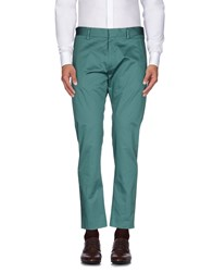Mauro Grifoni Trousers Casual Trousers Men Turquoise