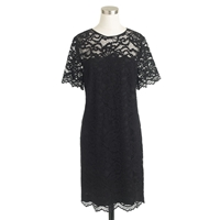 J.Crew Collection Zinnia Lace Dress Black