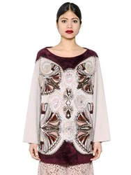 Antonio Marras Embellished Wool Blend Sweater