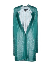 Just Cavalli Cardigans Emerald Green