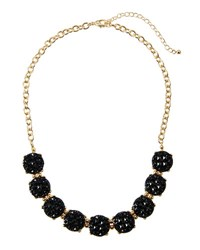 Fragments For Neiman Marcus Mini Statement Crystal Necklace Black