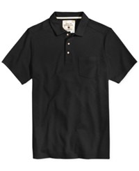 Tasso Elba Men's Upf 30 Performance Polo Only At Macy's Deep Black