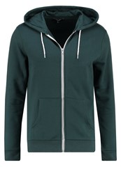 New Look Tracksuit Top Dark Green