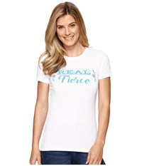 Ariat Real Fierce Top White Women's T Shirt