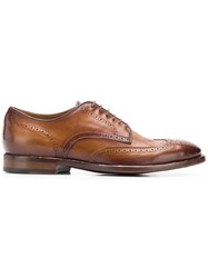 Officine Creative Emory Derby Shoes Brown