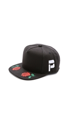 Pam Rose Cap Black