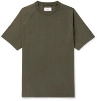 Mr P. Cotton Jersey T Shirt Army Green