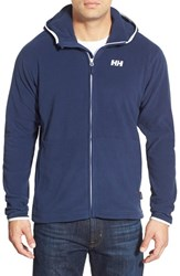 Men's Helly Hansen 'Daybreaker' Fleece Hoodie Evening Blue