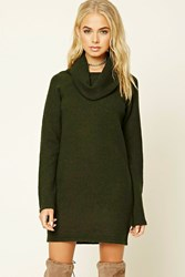 Forever 21 Cowl Neck Sweater Dress