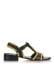 Rachel Comey Bays Crochet Leather Sandals