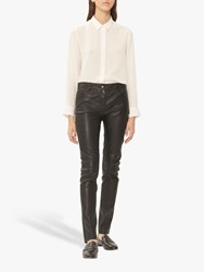 Gerard Darel Neyl Leather Jeans Black