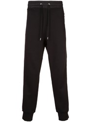 Public School Elasticated Waist Track Pants Black