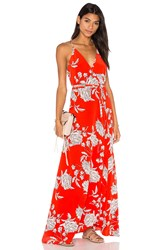 Yumi Kim Rush Hour Maxi Dress Red