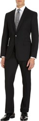 Ralph Lauren Black Label Anthony Two Button Suit Black Size 36 Regular