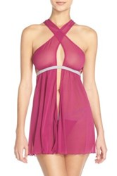 Honeydew Intimates Flyaway Babydoll And G String Pink