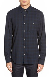 Men's 7 For All Mankind Trim Fit Brushed Flannel Sportshirt