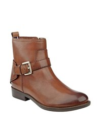 Tommy Hilfiger Safire Suede Ankle Boots Brown