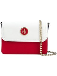 Tommy Hilfiger Logo Crossbody Bag Multicolour