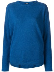 Aspesi Crew Neck Sweater Blue