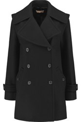 Michael Kors Collection Wool Felt Coat Black