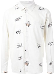 Henrik Vibskov 'Nikolaj Holiday' Shirt White