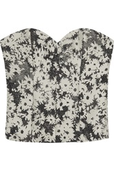 Stella Mccartney Laura Floral Jacquard Bustier