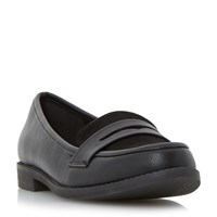 Linea Gingerly Casual Loafers Black