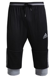 Adidas Performance Condivo16 2In1 3 4 Sports Trousers Black Grey