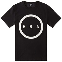Hood By Air Orgy Logo Tee Black And White