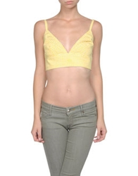 Richmond Denim Tops Yellow