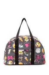 Betsey Johnson Weekend Bag With Yoga String Multi